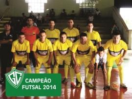 CAMPEÃO FUTSAL 2014