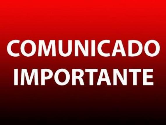COMUNICADO AOS ASSOCIADOS