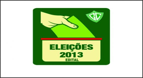 EDITAL - ELEIÇÕES 2013